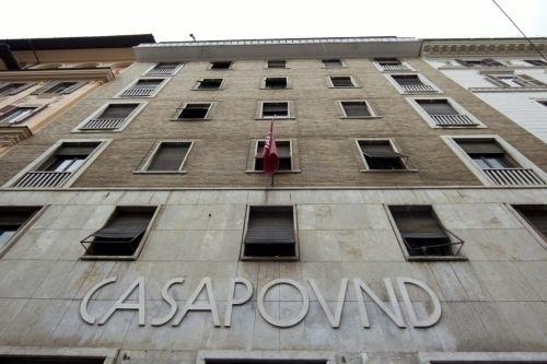 La sede nazionale di CasaPound a Roma
