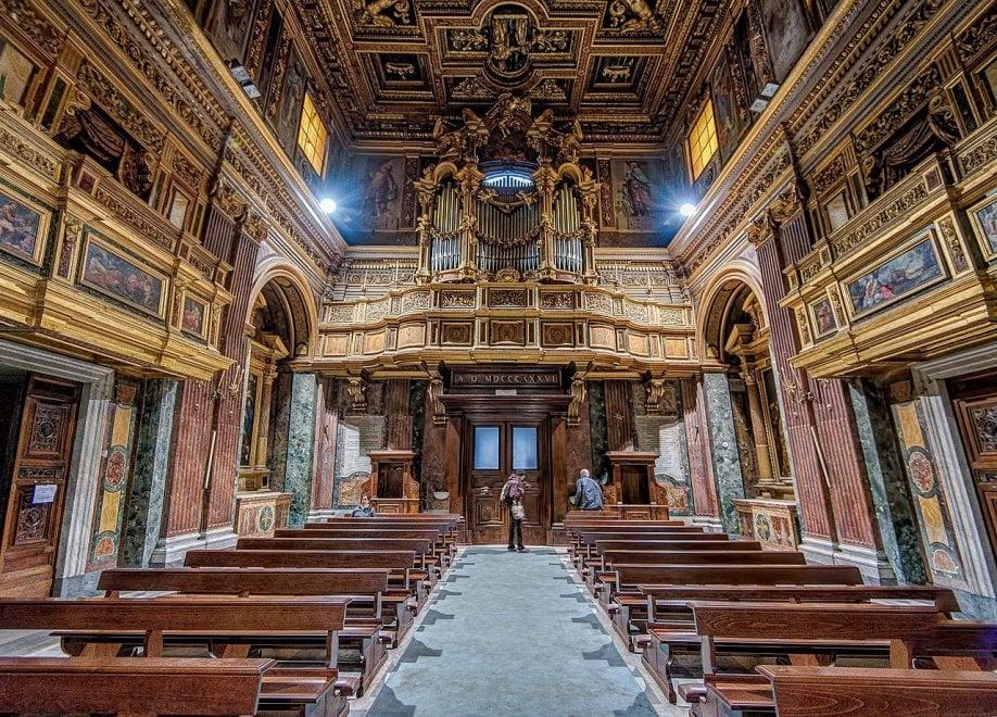 San Giuseppe de' Falegnami prima del crollo