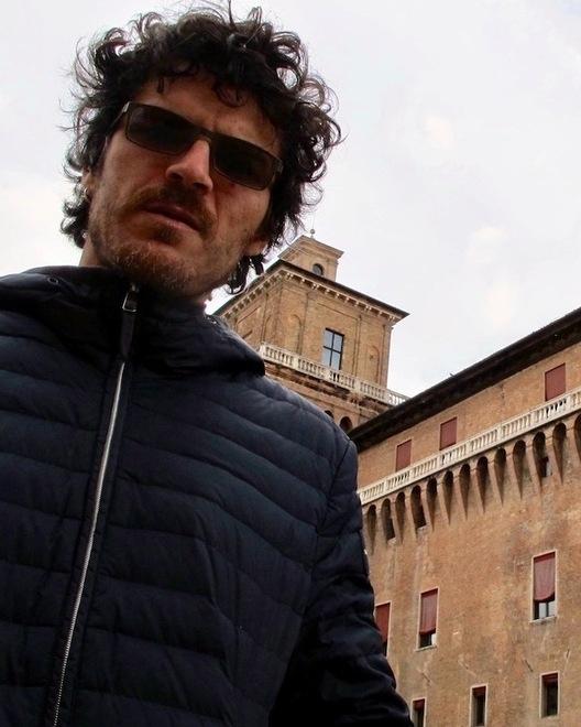 L'autore a Ferrara