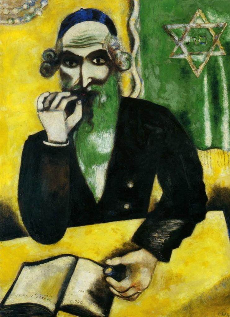 Marc Chagall, «Una presa di tabacco», 1912, Francoforte, Städelsches Kunstinstitut und Städtische Galerie