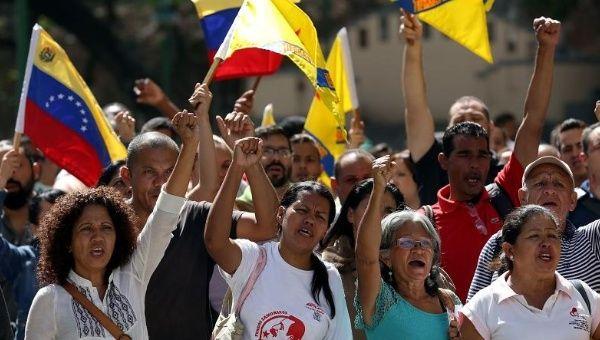 La marcia dei contadini venezuelani
