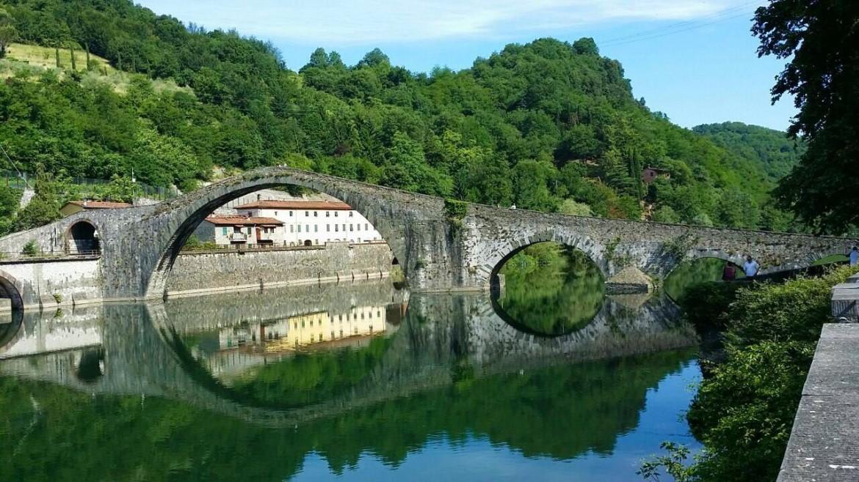 Ponte del diavolo, Borgo a Mozzano (Lucca)