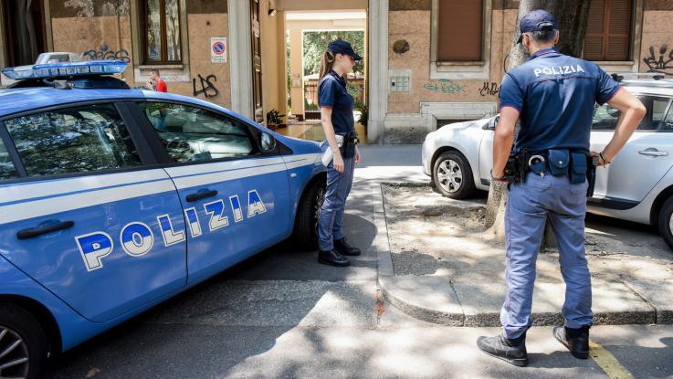 Polizia a Rimini