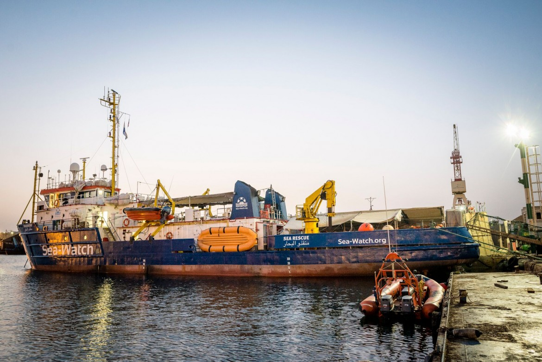 La Sea-Watch 3, sotto la Lifeline