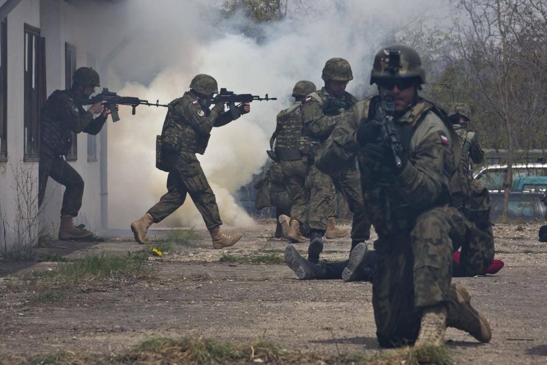 Esercitazioni Nato in Kosovo