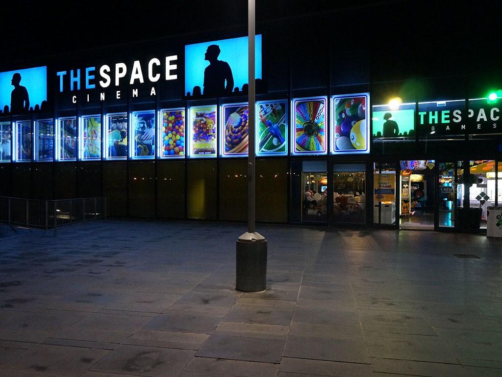 La catena di multisala The Space Cinema