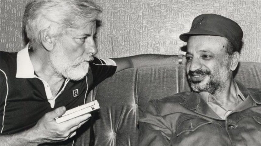 Beirut, 3 Luglio 1982. Uri Avnery intervista Yasser Arafat