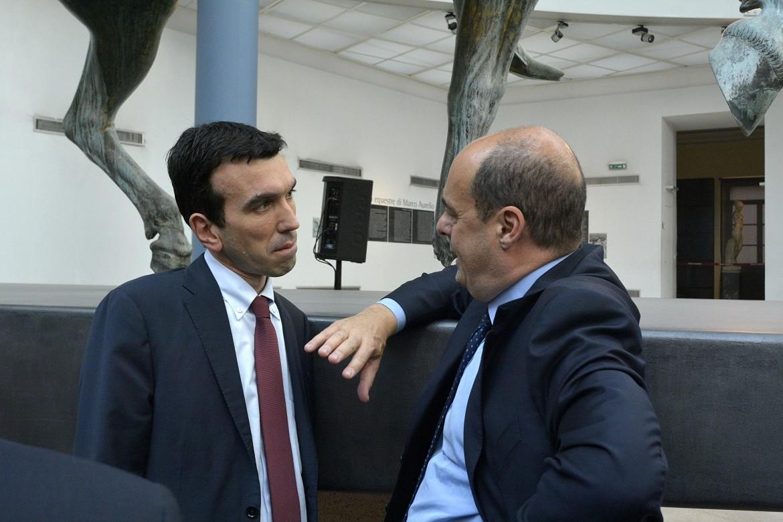Maurizio Martina e Nicola Zingaretti nel 2014