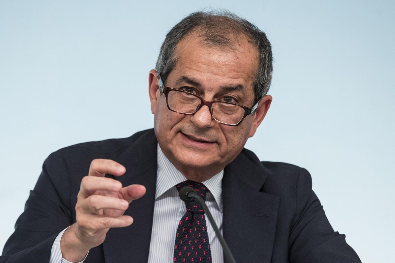 Il ministro Giovanni Tria