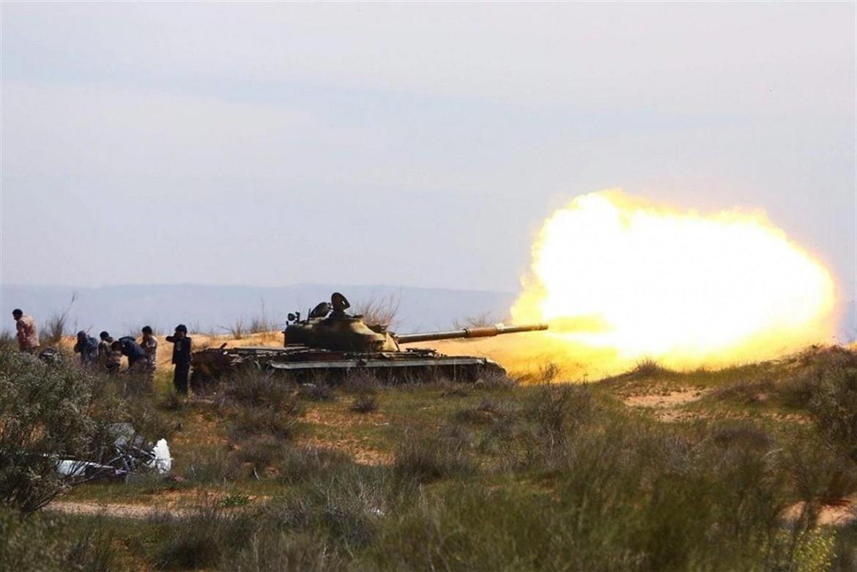 Scene di guerra in Libia