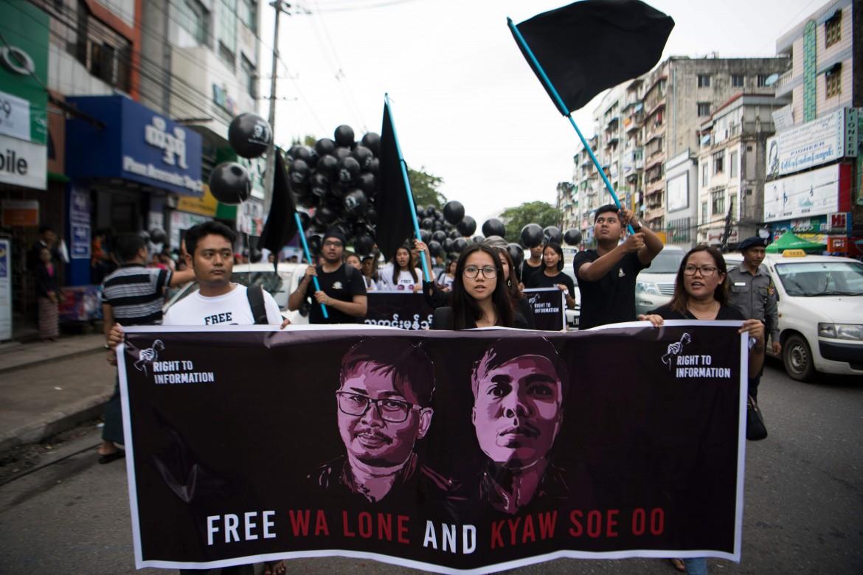 Le proteste dopo gli arresti