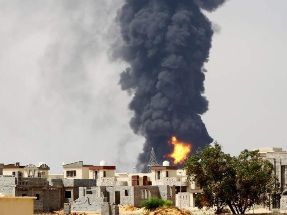 Bombardamenti alle porte di Tripoli