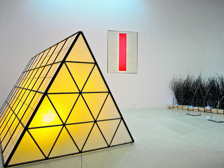 Marco Bagnoli, «Città del sole» ( 1988, il dettaglio è del lucernaio)