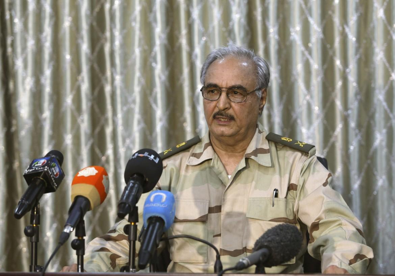 il generale cirenaico Kalifa Belqasim Haftar