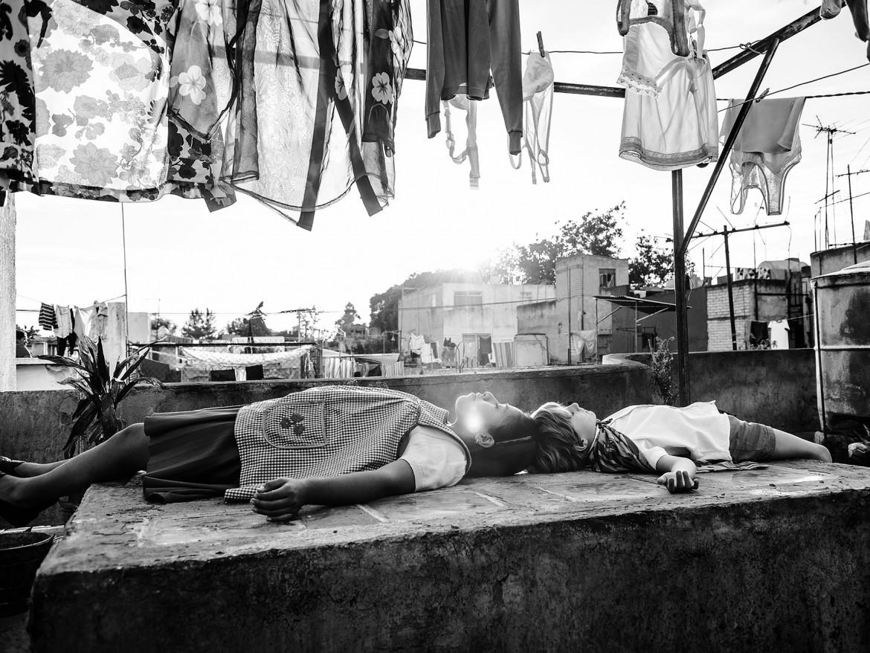 Un fotogramma da «Roma» di Alfonso Cuaron