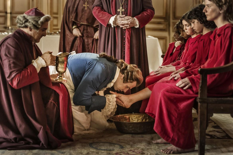 Una scena dal film di Pierre Schoeller «Un peuple et son roi»
