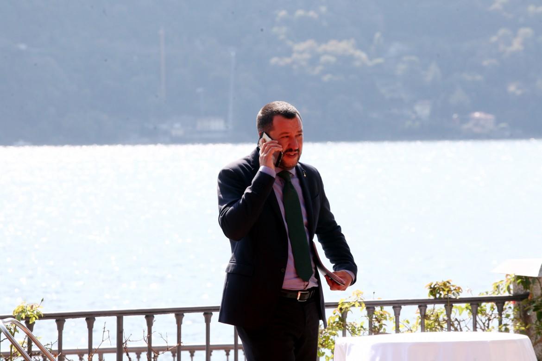 Matteo Salvini ieri a Cernobbio