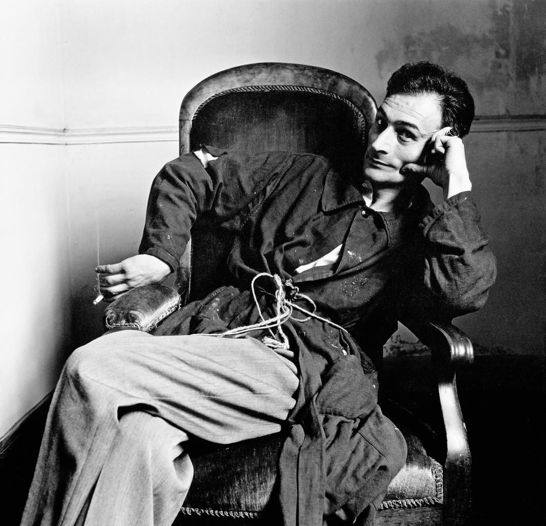 Balthus ritratto da Irving Penn nel 1948 © The Irving Penn Foundation