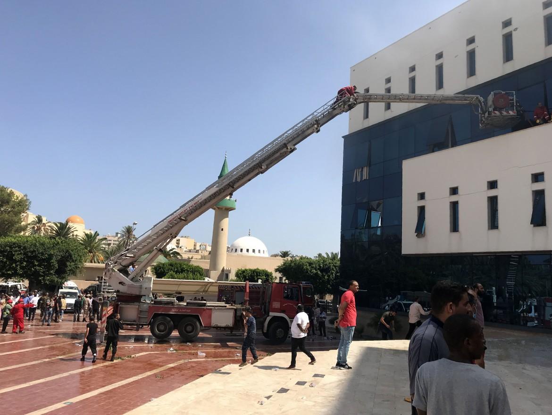 la sede della compagnia Noc a Tripoli