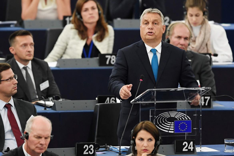 Il discorso di Viktor Orbán ieri a Strasburgo