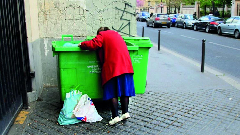 Povertà in Francia