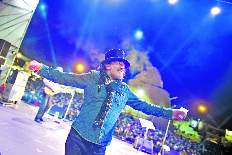Rachid Taha in concerto a Novoli al focarafestival del 2015