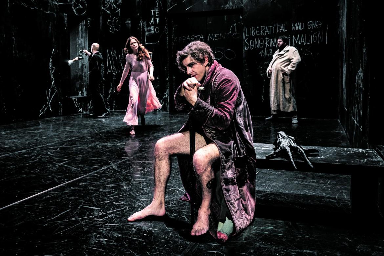 Michele Riondino in «Il maestro e Margherita»