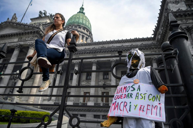 Lo sciopero nazionale degli insegnanti argentini, lo scorso 13 settembre a Buenos Aires