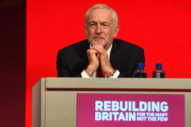 Il leader del Partito Laburista Jeremy Corbyn