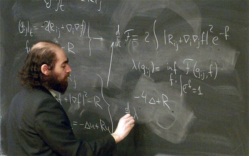 Il matematico russo Grigorij Perel'man che nel 2002 ha dimostrato la validità della congettura di Poincar