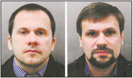 Alexander Petrov e Ruslan Boshirov