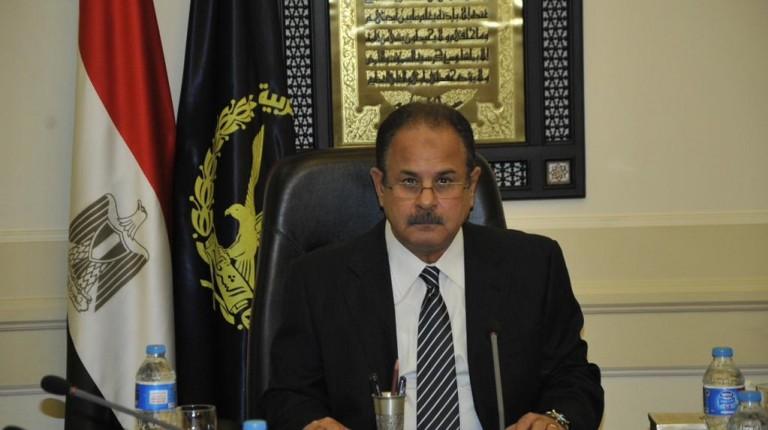 Il ministro dell'interno egiziano Magdi Abdel Ghaffar