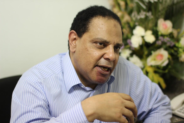 Lo scrittore egiziano 'Ala Al-Aswani