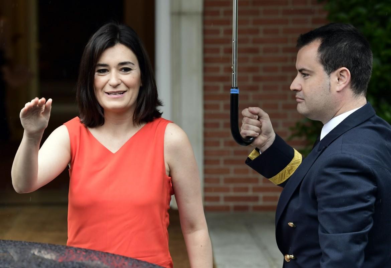 La ministra spagnola della salute Carmen Montón
