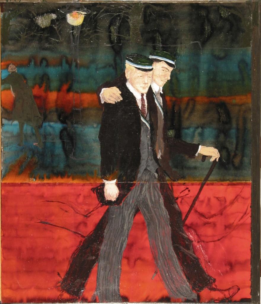 Kai Althoff,  «Senza titolo», 2001