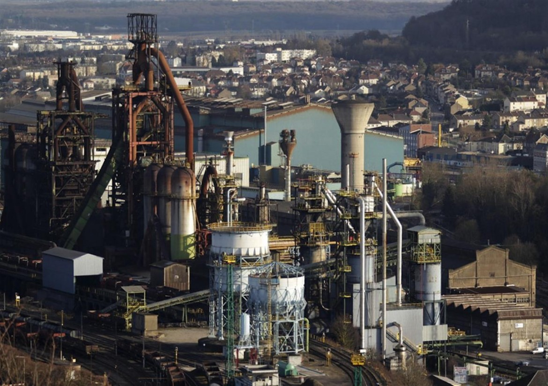 Lo stabilimento Mittal di Florange, in Mosella