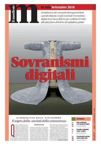 In Asia Settembre Sovranismi digitali