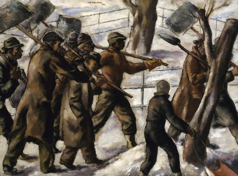 Jacob Getlar Smith,  Snow Shovellers, 1934