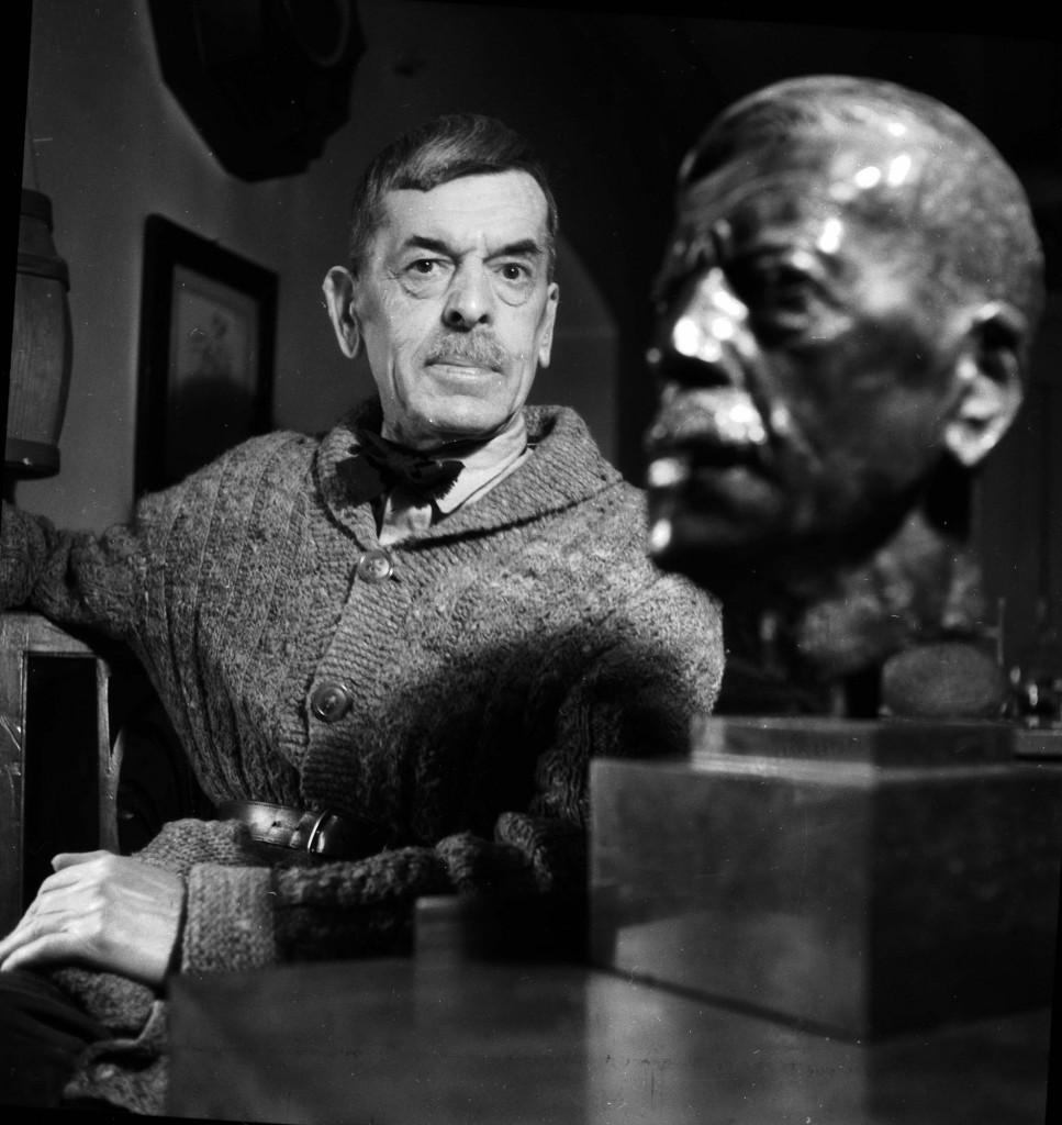 Lo scrittore svizzero Charles Ferdinand Ramuz, 1878-1947