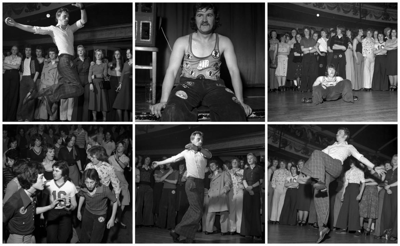 Scene di balli al Wigan Casino nel 1975