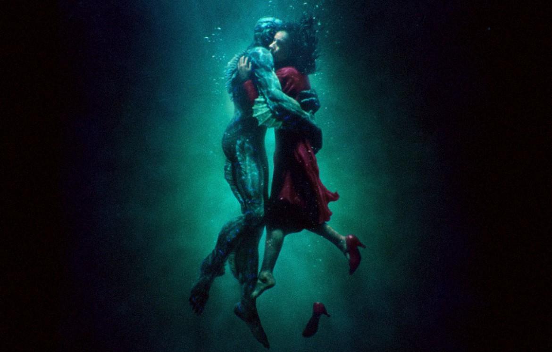 Una scena dal film La forma dell'acqua
