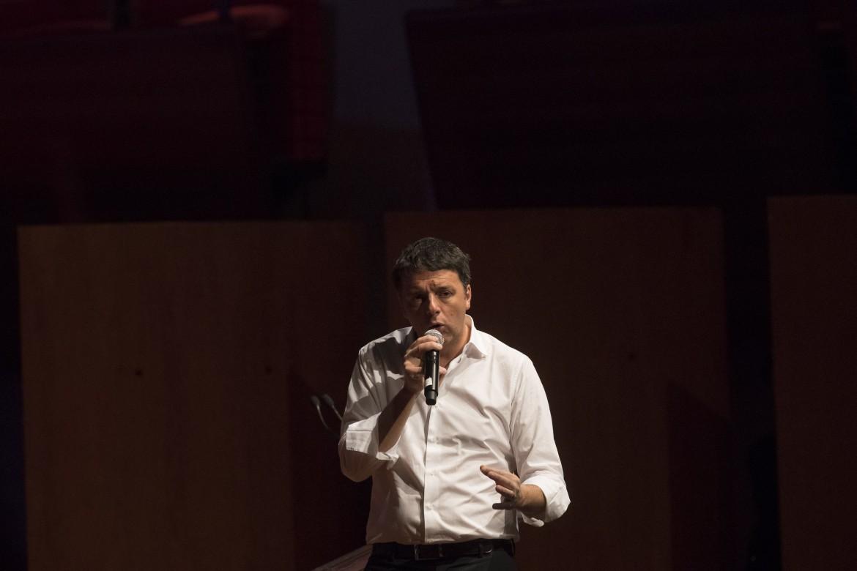 Matteo Renzi ieri a Ravenna