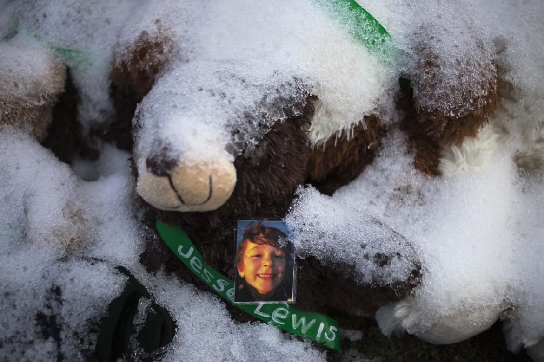 L'omaggio a Jesse McCord Lewis, 6 anni, una delle vittime della strage di Sandy Hook