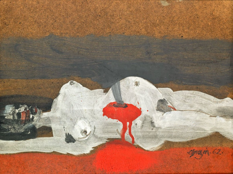 Alejandro Obregon, Violencia, 1962