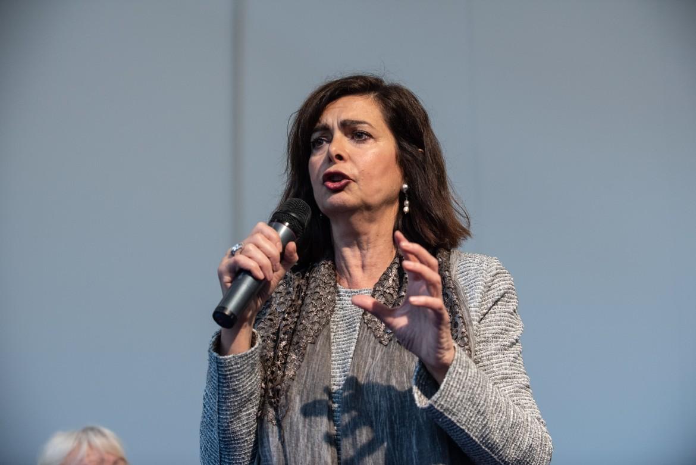 Discorso Camera Boldrini : Laura boldrini: «il progetto di lucano deve vivere» il manifesto