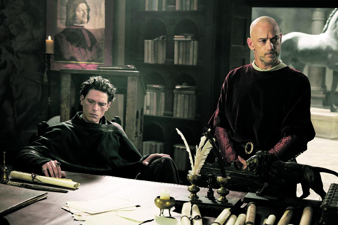 Una scena della seconda stagione dei «Medici»