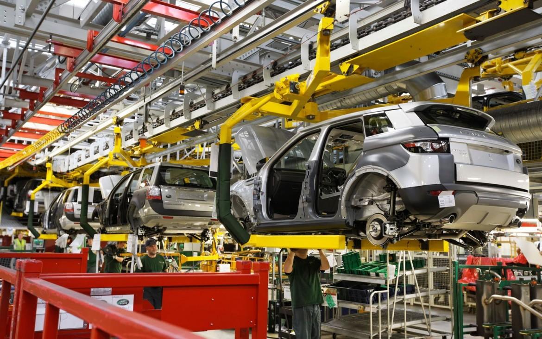 Nuovissima linea di produzione nello stabilimento Tata di Nitra in Slovacchia