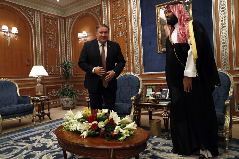 Mike Pompeo in visita diplomatica in Arabia Saudita