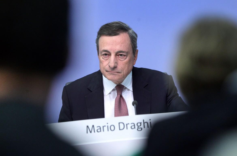 Mario Draghi quando era presidente della Bce