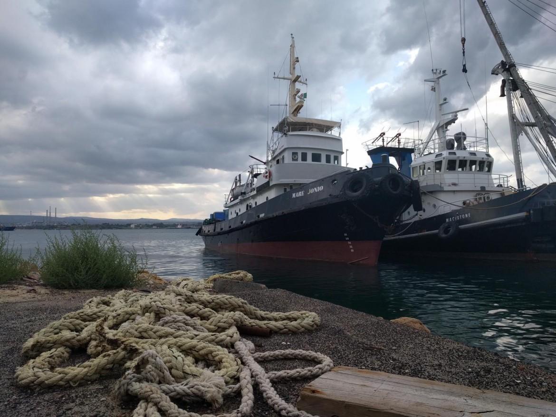 Il rimorchiatore Mare Ionio - nave